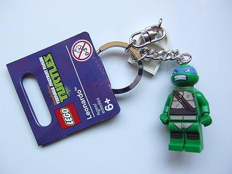 LEGO Teenage Mutant Ninja Turtles Leonardo Keychain