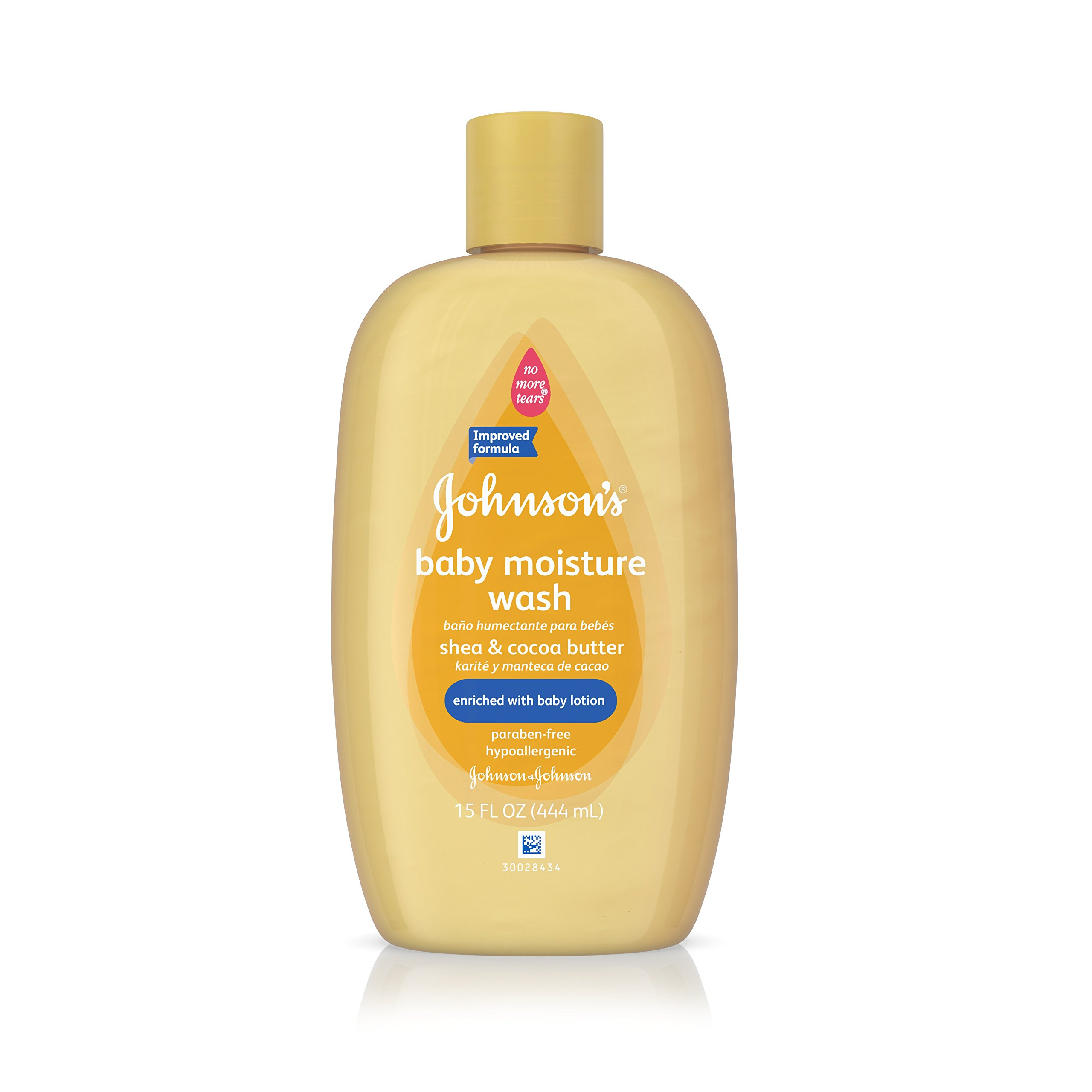 Johnson's Baby Shea & Cocoa Butter Moisture Wash For Soft Skin, 15 Oz. by Johnson's Baby