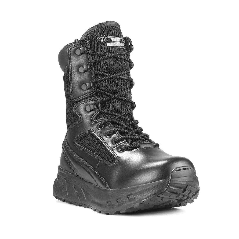 Tactical Research Fatt Maxx 8zwp Side Zip防水衝撃吸収性Boot性、ブラック B01AO1IHAY 12 D(M) US