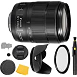 Canon EF-S 18-135mm f/3.5-5.6 is USM Lens UV Filter + Reversible Tulip Lens Hood + Lens Pen + Lens Cap Keeper + Cleaning…
