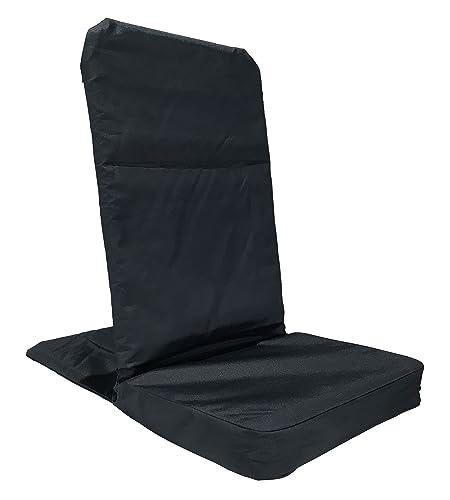 Back Jack Floor Chair (Original BackJack Chairs) - XL Size (Tuff Duck Material) (Navy Blue)
