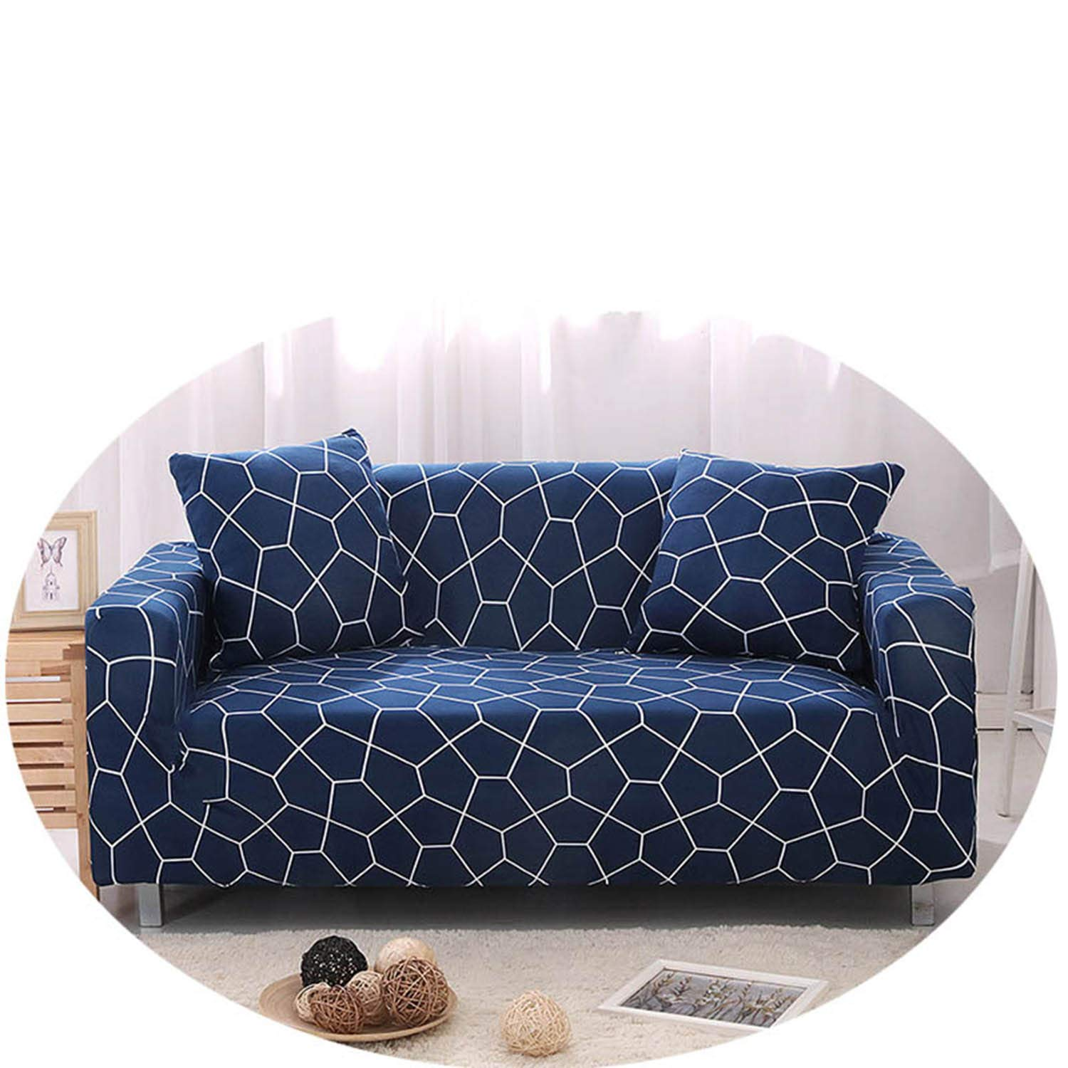 Amazon.com: Elastic Sofa Cover Washable Couch Cover Sofa ...