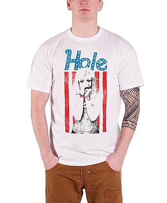 32eb0c28 Amazon.com: Hole Men's Courtney Love Flag Photo Official T-Shirt ...