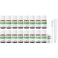【2019年改訂版】ease AEAJアロマテラピー検定香りテスト対象精油セット 揃えておきたい基本の精油 1・2級 17本セット各2ml