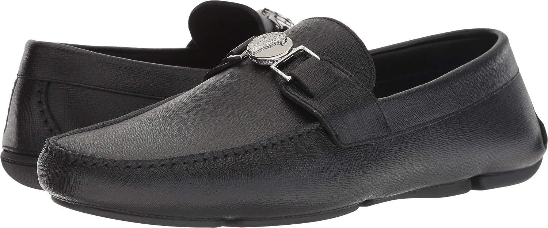 3640e6a7 Amazon.com: Versace Collection Mens Logo Driver: Shoes