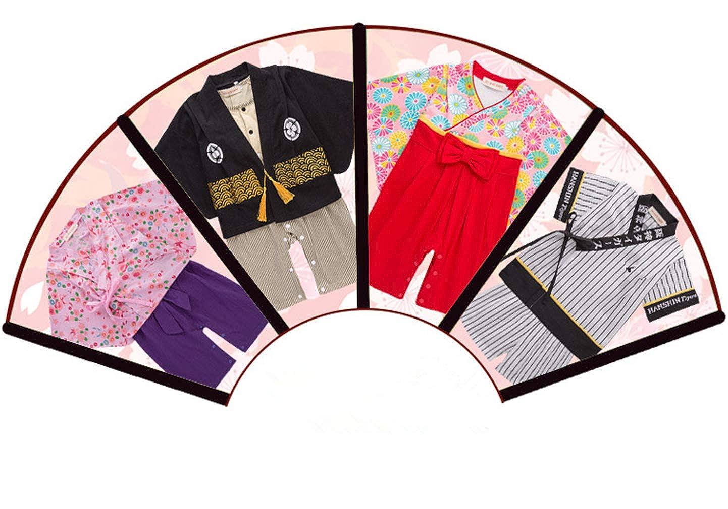 zhxinashu Infantil Mono Beb/é Algod/ón Kimono 70-95CM Las Ni/ñas de Manga Larga Mameluco Chicos Estilo Japon/és Ropa