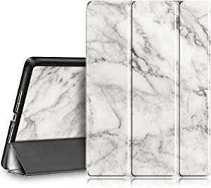 Fintie Case for iPad 9.7 2018/2017 - Lightweight Slim Shell Standing Cover with Auto Wake/Sleep Feature for iPad 6th / 5th Gen 9.7 Inch Tablet, Marble