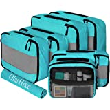 OlarHike 7 Set Packing Cubes for Travel, Luggage Organizers with Laundry Bag & Toiletry Bag