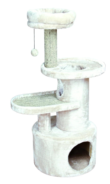 Trixie Poste Rascador Alessio, 111 cm, Gris Claro: Amazon.es: Productos para mascotas