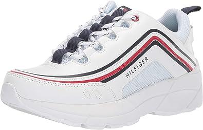 Tommy Hilfiger Essi Zapatillas Para Mujer Blanco 6 Shoes