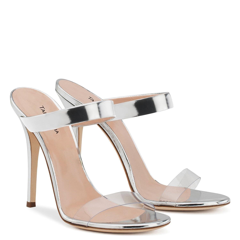 86c6ebba3d5 XUEXUE Women s Shoes PU Comfort Sandals Walking Shoes Stiletto Heel Pointed  Heel Wedding Party   Evening Dress Formal Business Work Wedding (Color   B