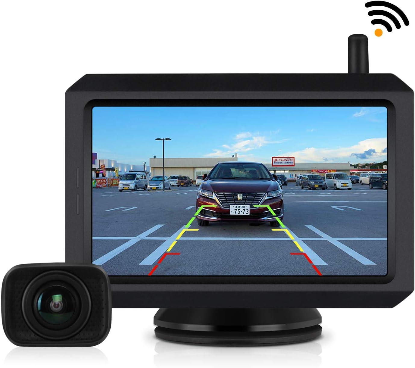 バックカメラモニターセット デジタルバックモニター