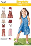 Simplicity Sewing Pattern 1453 l'enfant-&s Robe Tailles: 3–8
