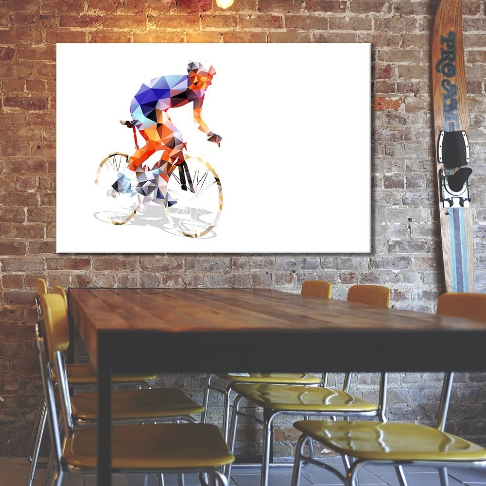 Bike Exercise Wall Arts