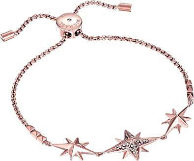 83ea6ac9c607 Amazon.com  Michael Kors Women s Starburst Pave Slider Bracelet Rose ...