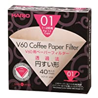 Hario VCF-01-100M 1-Piece Box of Paper Filter
