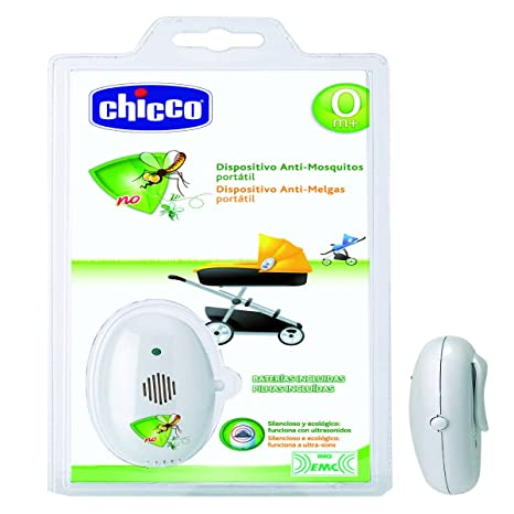 Chicco 00001881200040 - Dispositivo antimosquitos portátil, color blanco