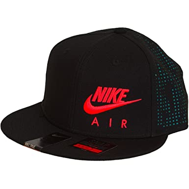 Nike Mens Air Hybrid True Snapback Hat Black/Rio Teal/Bright ...