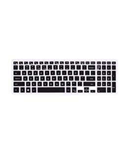 """Dorca Soft Silicone Keyboard Protector Skin/Dust Covers for Newest Dell Inspiron 5570 15.6"""" inch Laptop"""