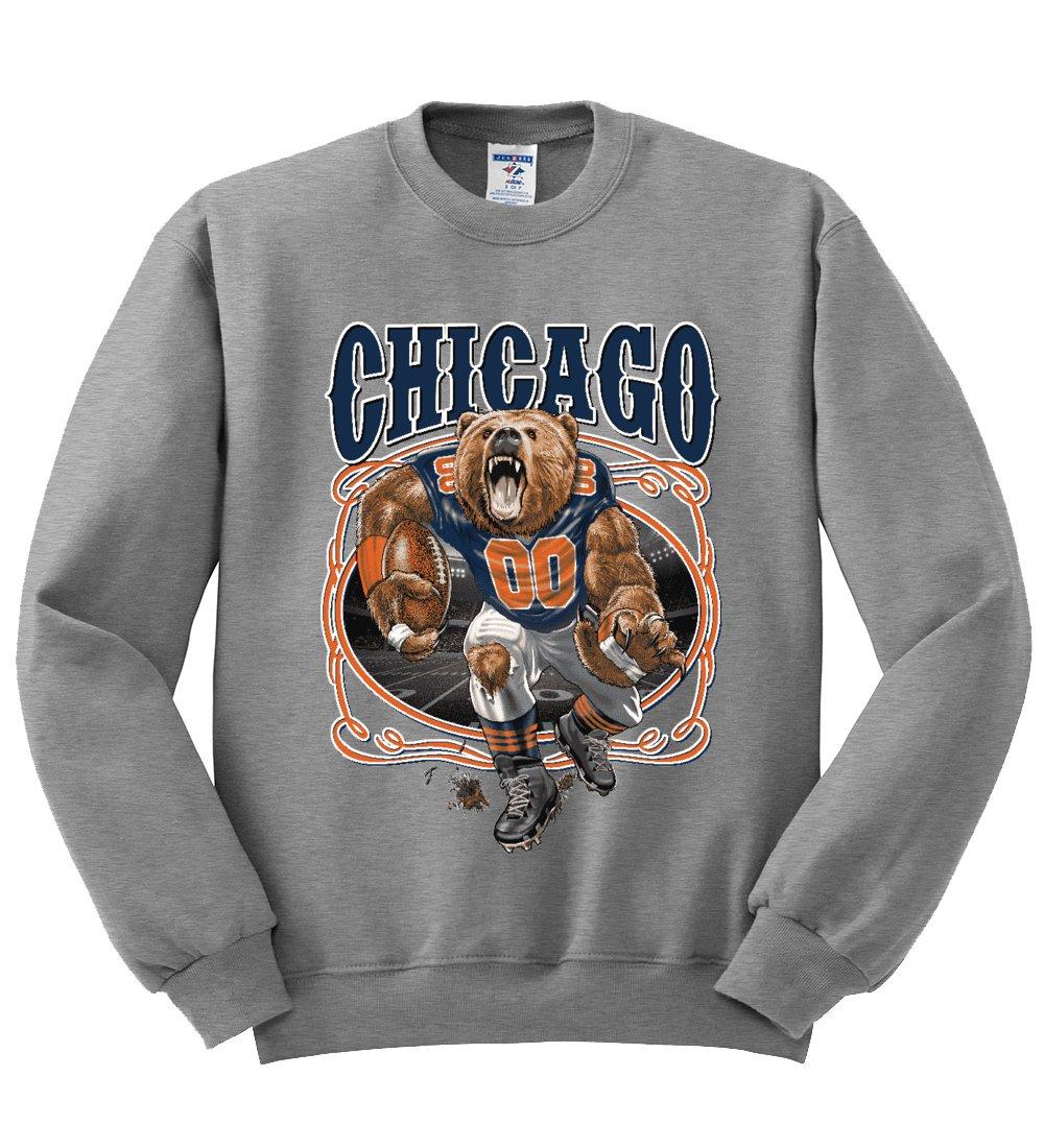 Chicago Fan Chi Fantasy Football S Sports Crewneck Graphic 4260 Shirts