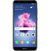 Huawei P Smart (Single SIM) 32GB Android 8.0 UK version SIM-Free Smartphone - Black