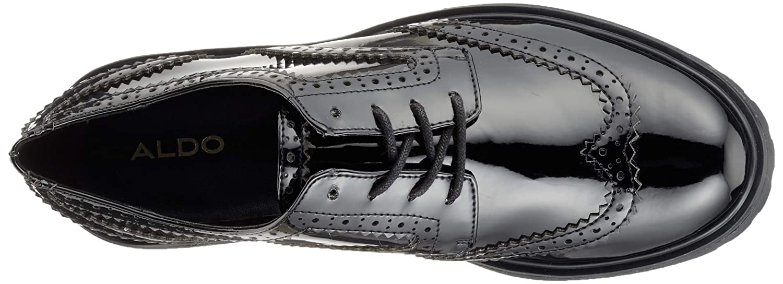 4826cd55189 Aldo Women's Aeliria Oxfords Jet Black 2 95 5 UK: Amazon.co.uk: Shoes & Bags