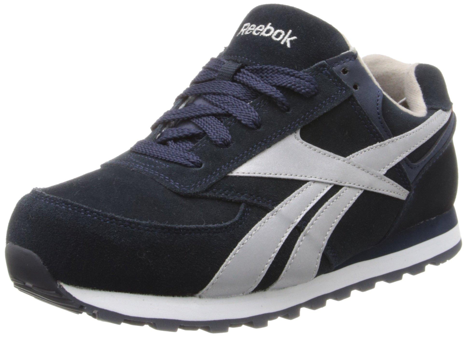 Reebok Work Women's Leelap RB195 Work Shoe,Blue Oxford,9 M US