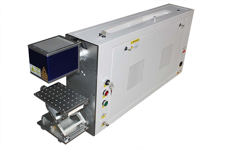 TEN-HIGH CO2 レーザーマーカー機 50W 100V~120V 非金属 二次元 操作簡単 高速度 高精度 B07C2KJ812