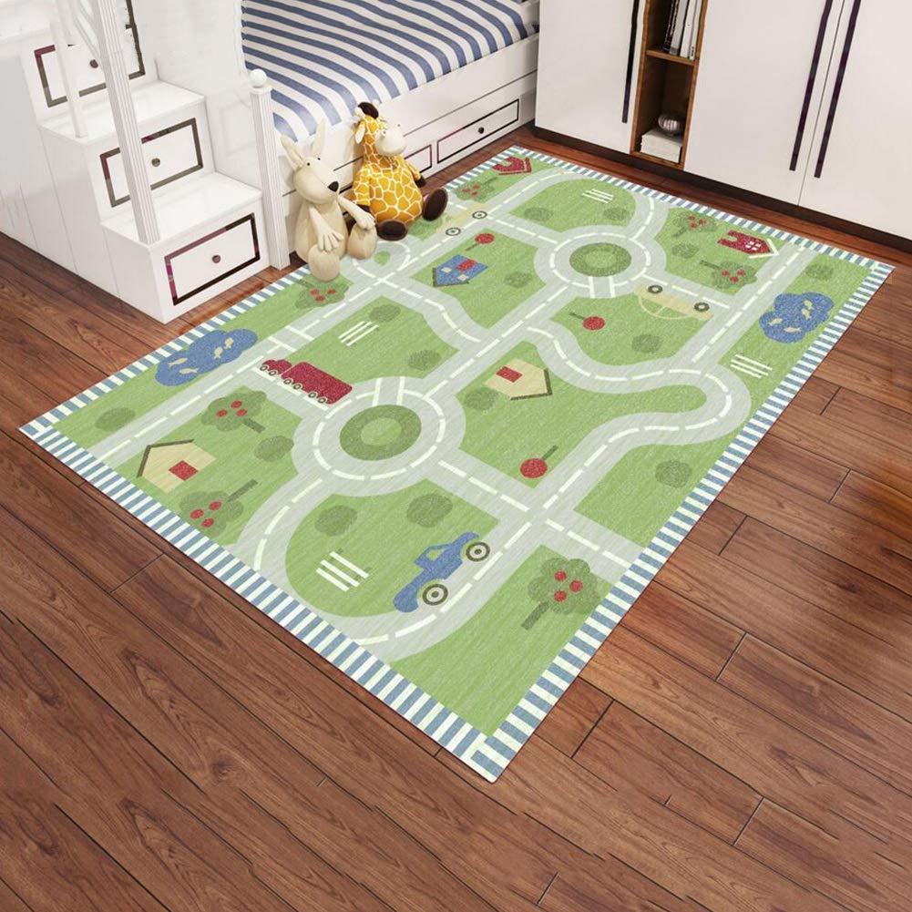 Dall Teppich Teppiche Kinder Spielteppich Mädchen Teppiche Weich Kinder Schlafzimmer Dekor (Farbe   S10, größe   120  160cm)