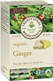 Traditional Medicinals Organic Ginger, 20 tea bags