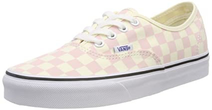 773218cbf5 12 UK Pink (Checkerboard) Chalk Pink Classic White Q8L) Vans Womenâ ...