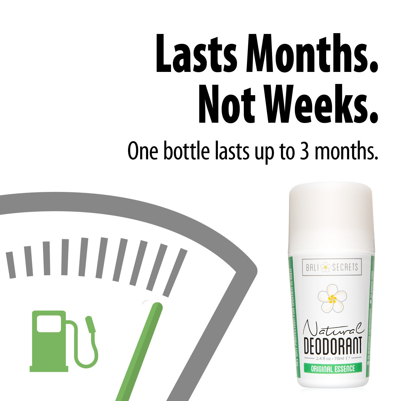 Bali Secrets Natural Deodorant – Organic & Vegan – For Women & Men – All Day Fresh – Strong & Reliable Protection – 2.4 fl.oz/75ml [Scent: Original Essence by Bali Secrets (Image #6)
