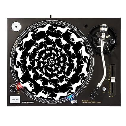 Amazon.com: Animal Kingdom – DJ Tocadiscos Slipmat: Musical ...