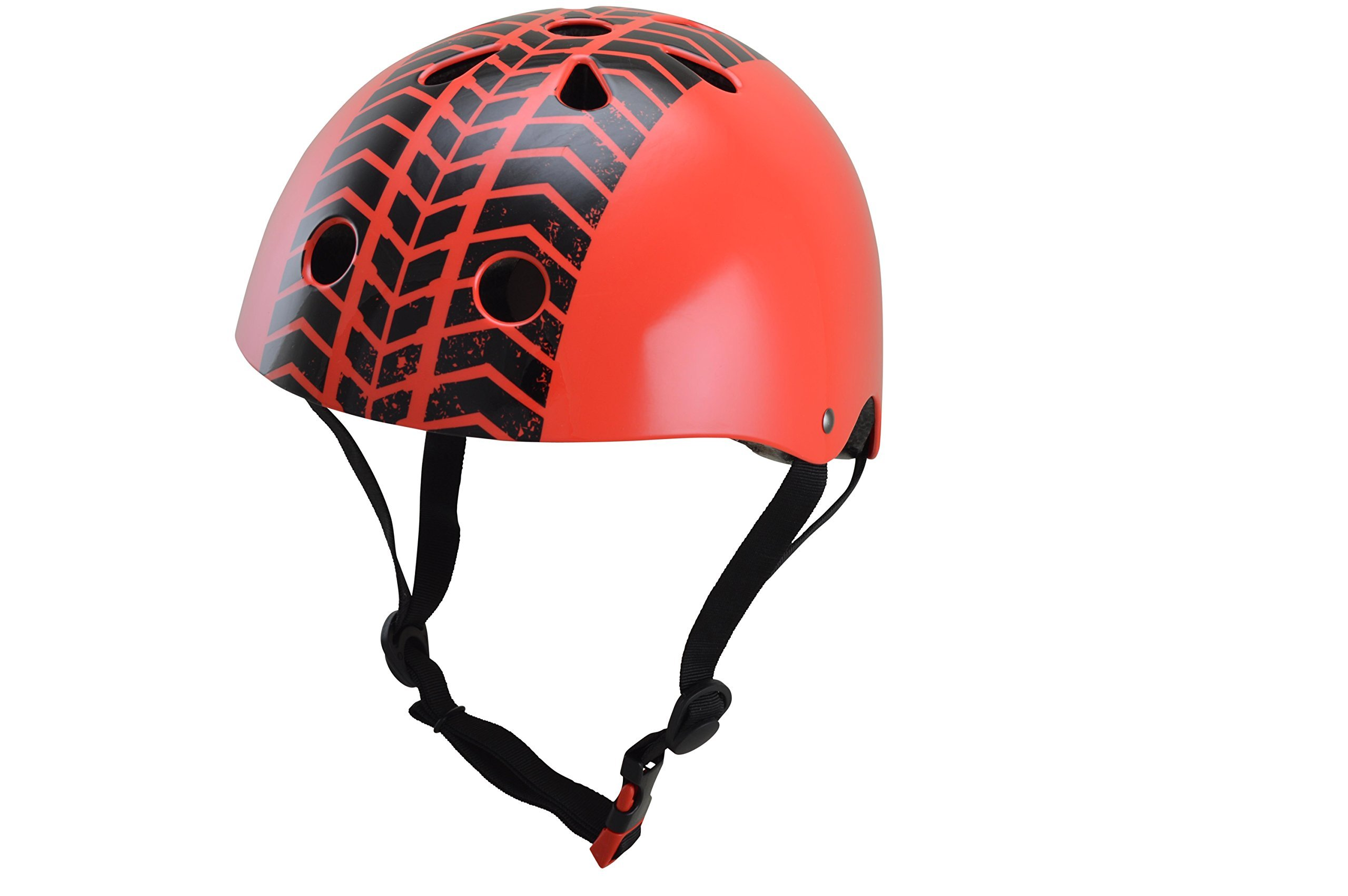 Kiddimoto Kids Helmet - Red Tyre (Small 2-5 years)