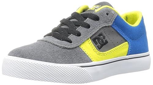 DC COLE PRO YOUTH SHOE - Zapatillas De Skate infantil, Grey/Blue, 39: Amazon.es: Zapatos y complementos
