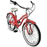 Micargi Tahiti 7SP 24 Inch Women's Beach Cruiser Bike Shimano 7 Speed Hi-Ten Steel Frame City Bike Classic Road Outdoor…
