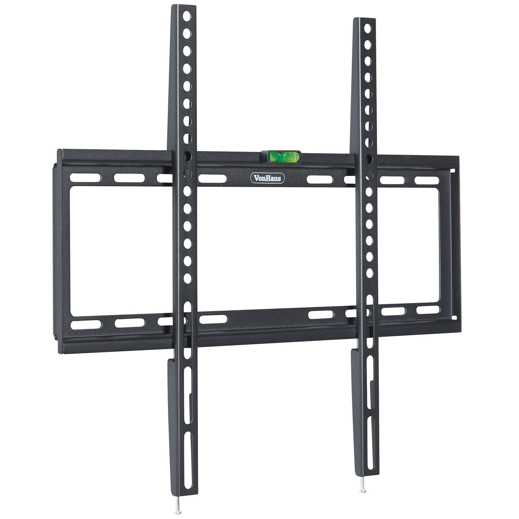 VonHaus Ultra Slim TV Wall Mount Bracket for 32-55'' LCD, LED, 3D & Plasma Screens - Max. VESA 400x400