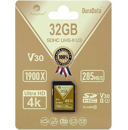 Amplim 4335045823 Tarjeta de Memoria para 4K, Full HD, 3D ...
