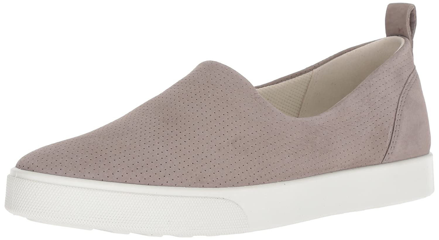 Warm Grey ECCO Womens Gillian Casual Slip on Sneaker