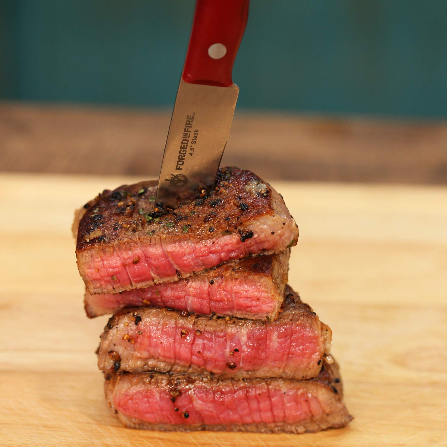 HISTORY - Forged in Fire - 4.5 Inch Steak Knife 6 - Piece Set by Forged in Fire (Image #4)