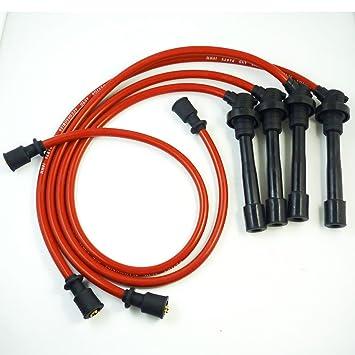 Juego de cables de bujía 10,2 mm 4G61 4G63 4G64 para Eagle Eclipse Talon 2,0 l 1995-1999: Amazon.es: Coche y moto