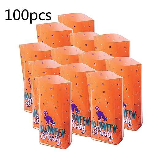 Funpa - 100 Bolsas de Dulces Decorativas para Regalar en ...