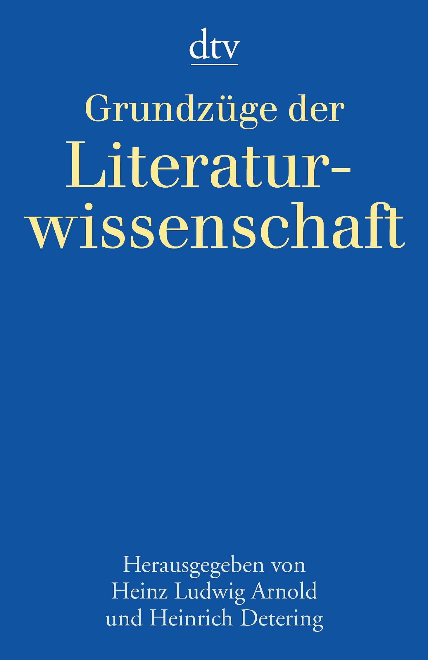 Grundzüge der Literaturwissenschaft
