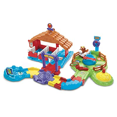 VTech Go! Go! Smart Animals Gallop and Go Stable: Toys & Games