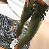 Leedford Long Pants,Women High Waist Harem Pants