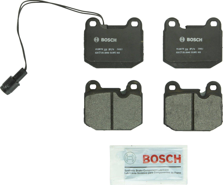 Bosch BP174 QuietCast Premium Semi-Metallic Front Disc Brake Pad Set