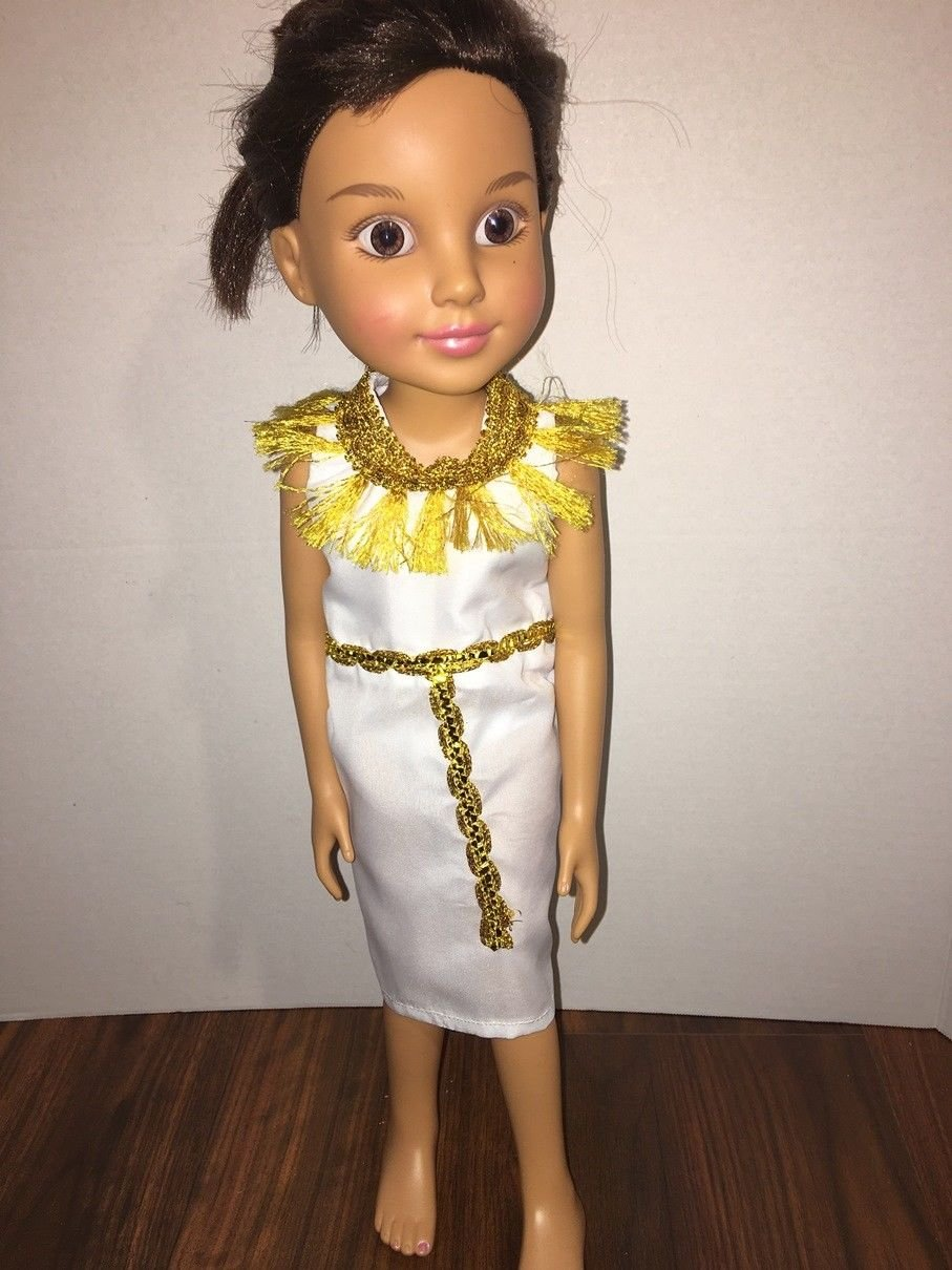 Handmade BFC Ink Doll Clothes Dress Cleopatra Egyptian Queen Inspired Costume Only (NO DOLL)