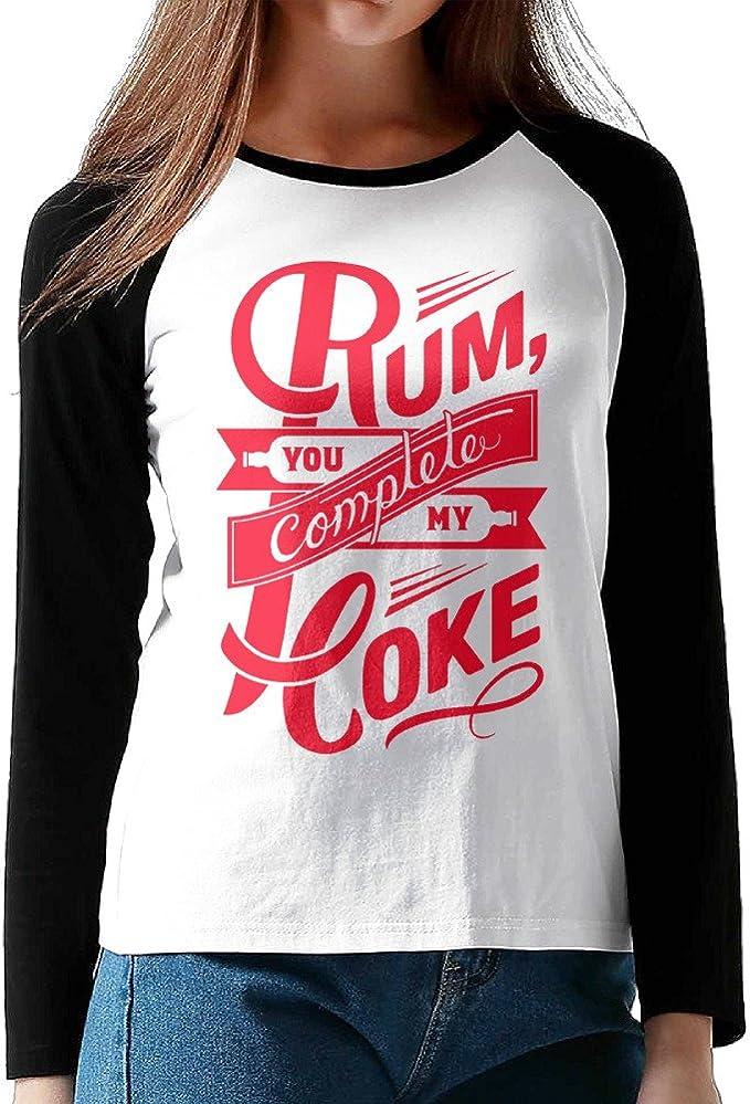 Have a Rum /& Coke Women/'s White T-Shirt
