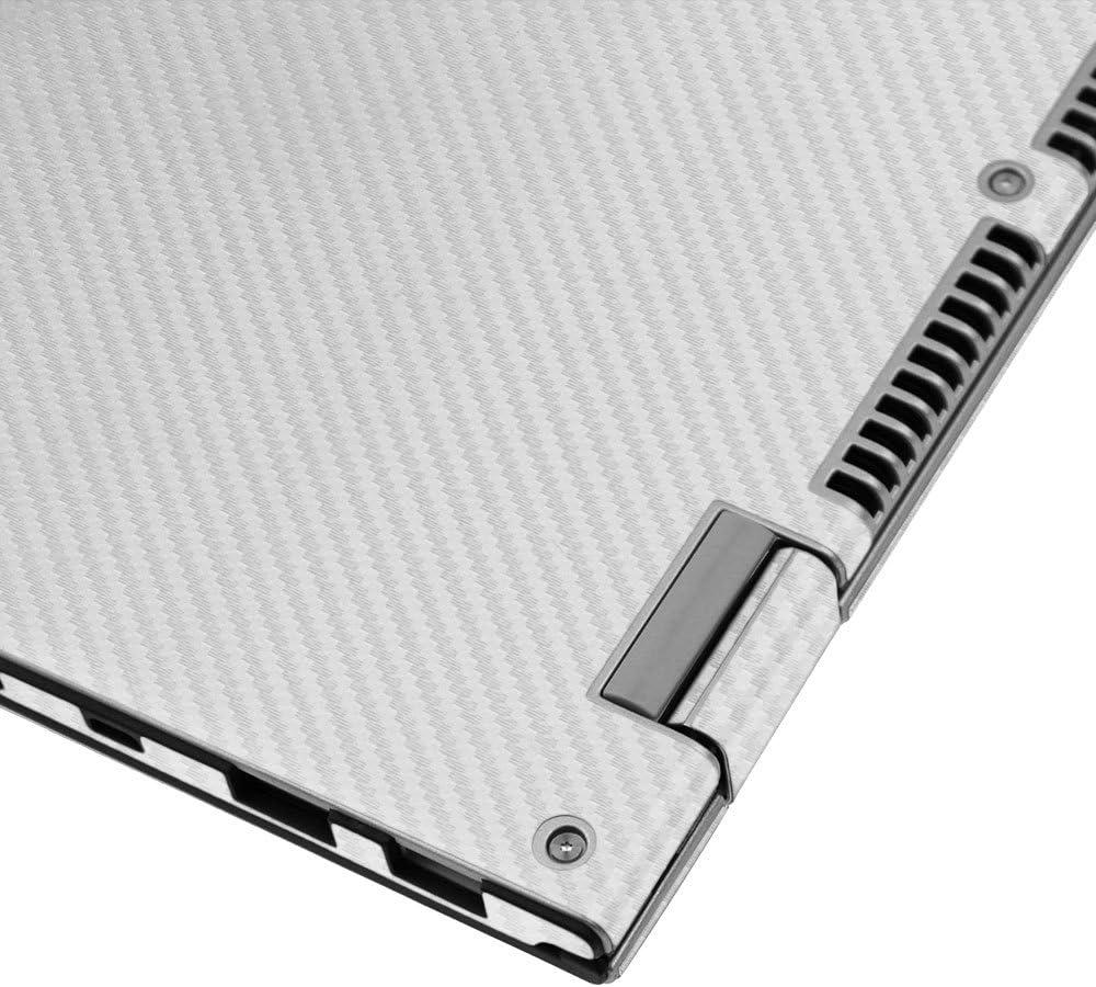 """Skinomi Carbon Fiber Silver Tablet Skin+Screen Protector for Lenovo Miix 2 8/"""""""