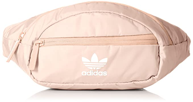 adidas Originals National Waist Pack, Blush Pink/White, One Size best women's fanny packs